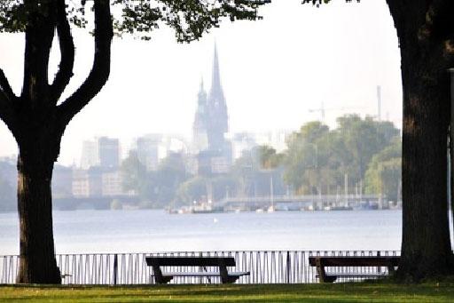 Hamburg entdecken - Um uns herum